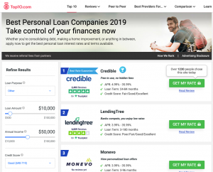 Top 10 best personal loans intent marketing