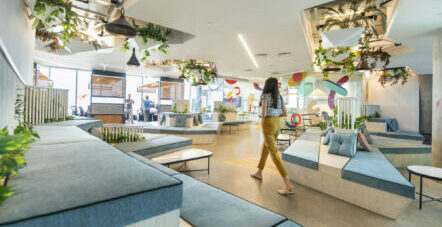 The Most Beautiful Offices in Israel - A Visit to Natural Intelligence's Offices in the TOHA Building